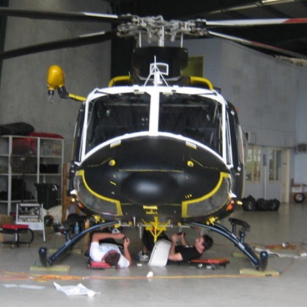 Quality helicopter maintenance, uncompromised safety.
